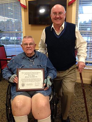 Bill Ross Receives Alumni Appreciation Award
