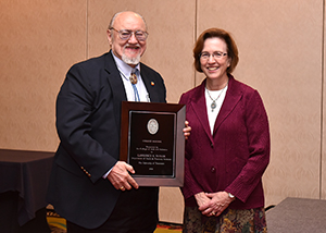 Taylor Honored at Annual Faculty Awards Banquet