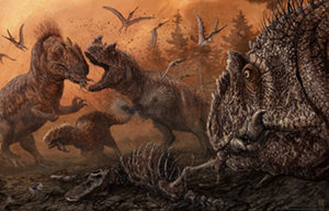 Drumheller Publishes Research on Cannibalism in Dinosaurs