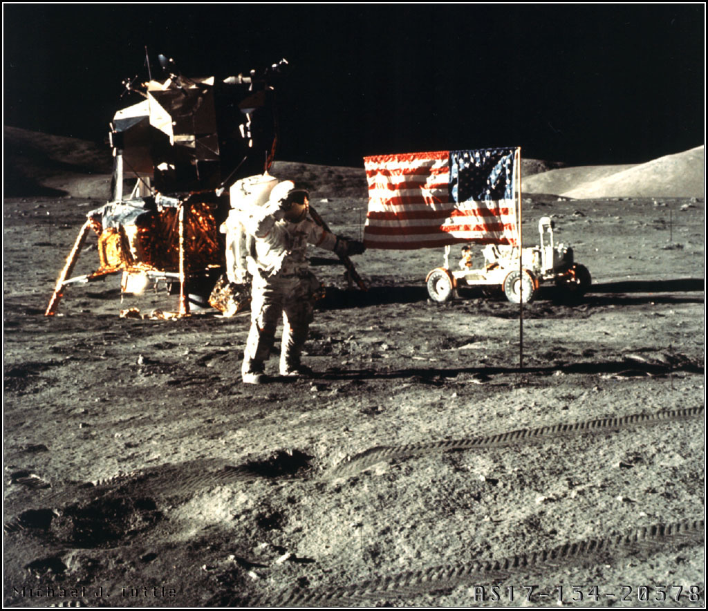 Apollo 17 mission with Astronaut Harrison